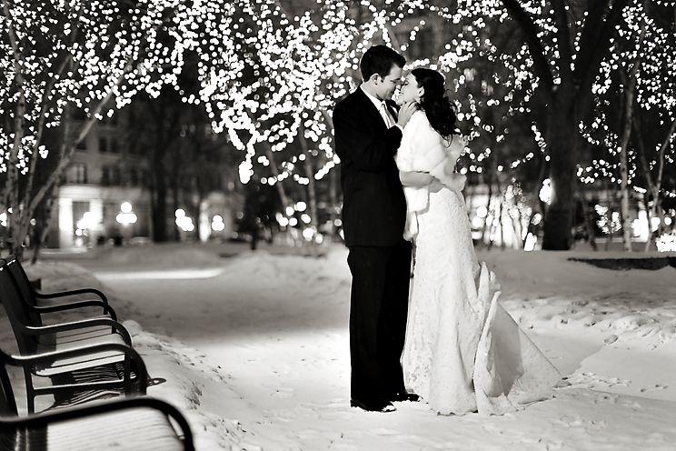 Outdoor Winter Weddings