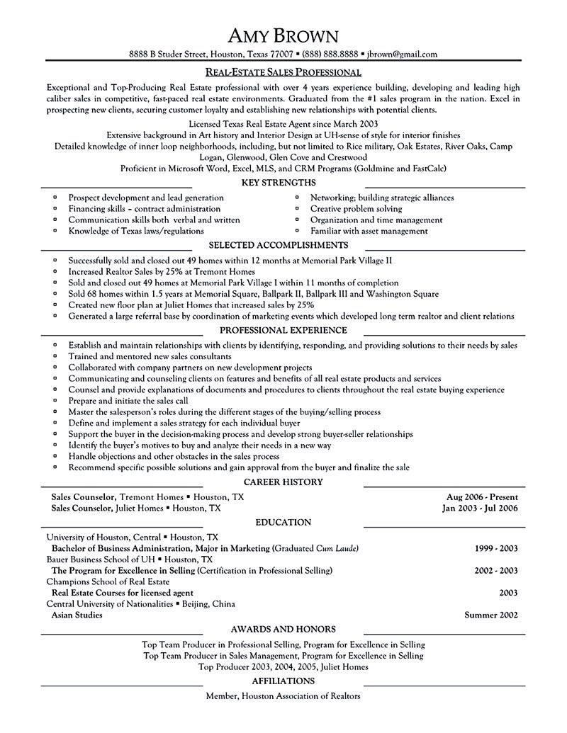 Real estate resume radioliriodosvalesonline real estate resume entry level real estate resume sample thecheapjerseys Images