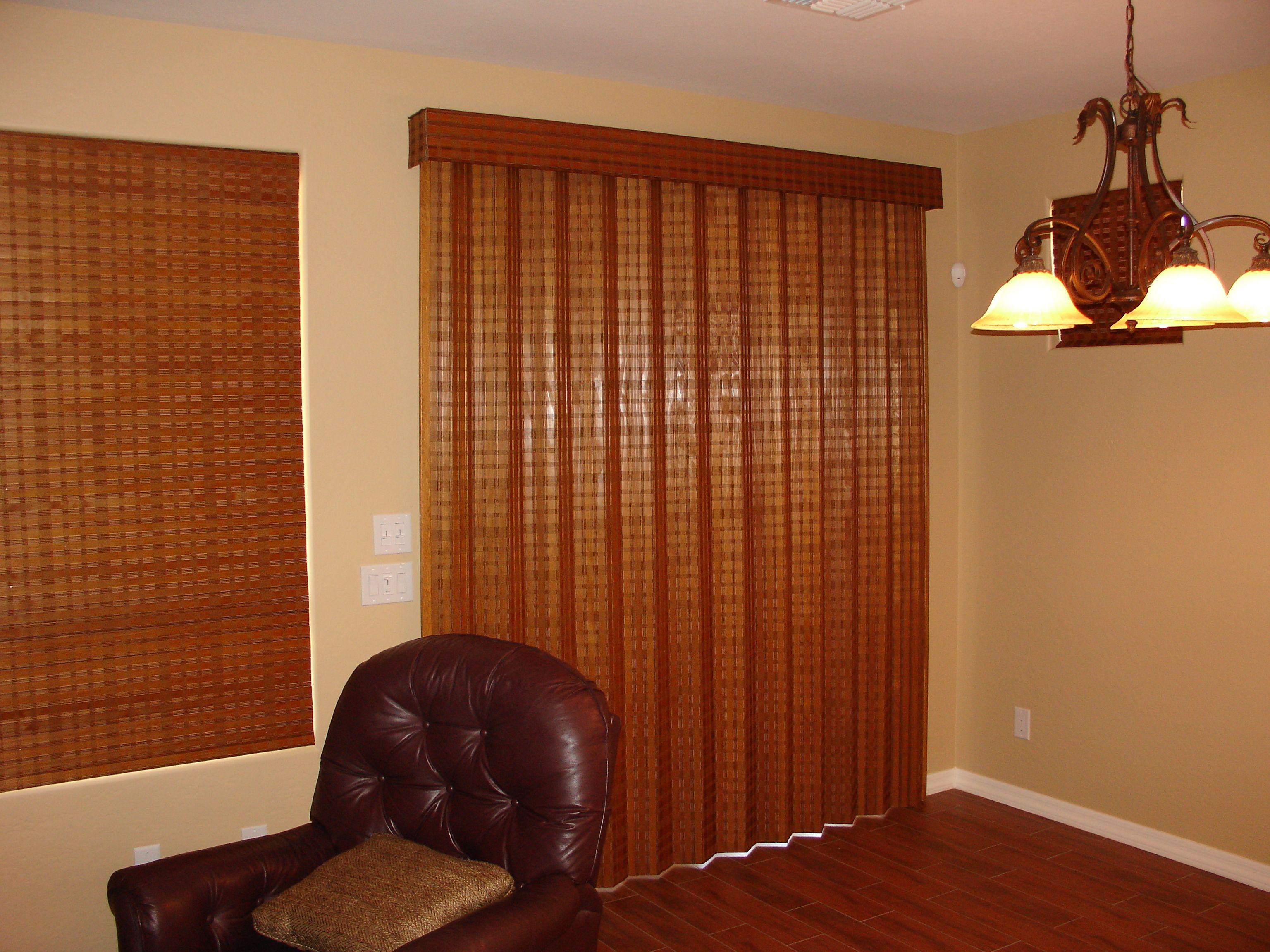 Folding doors woven wood folding doors - Woven wood wall panels ...