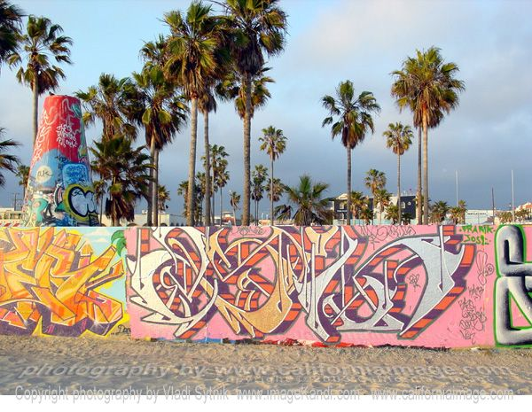 Wall size posters of venice beach