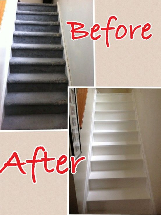 Diy stair makeover stacy 39 s creations pinterest for Diy staircase makeover