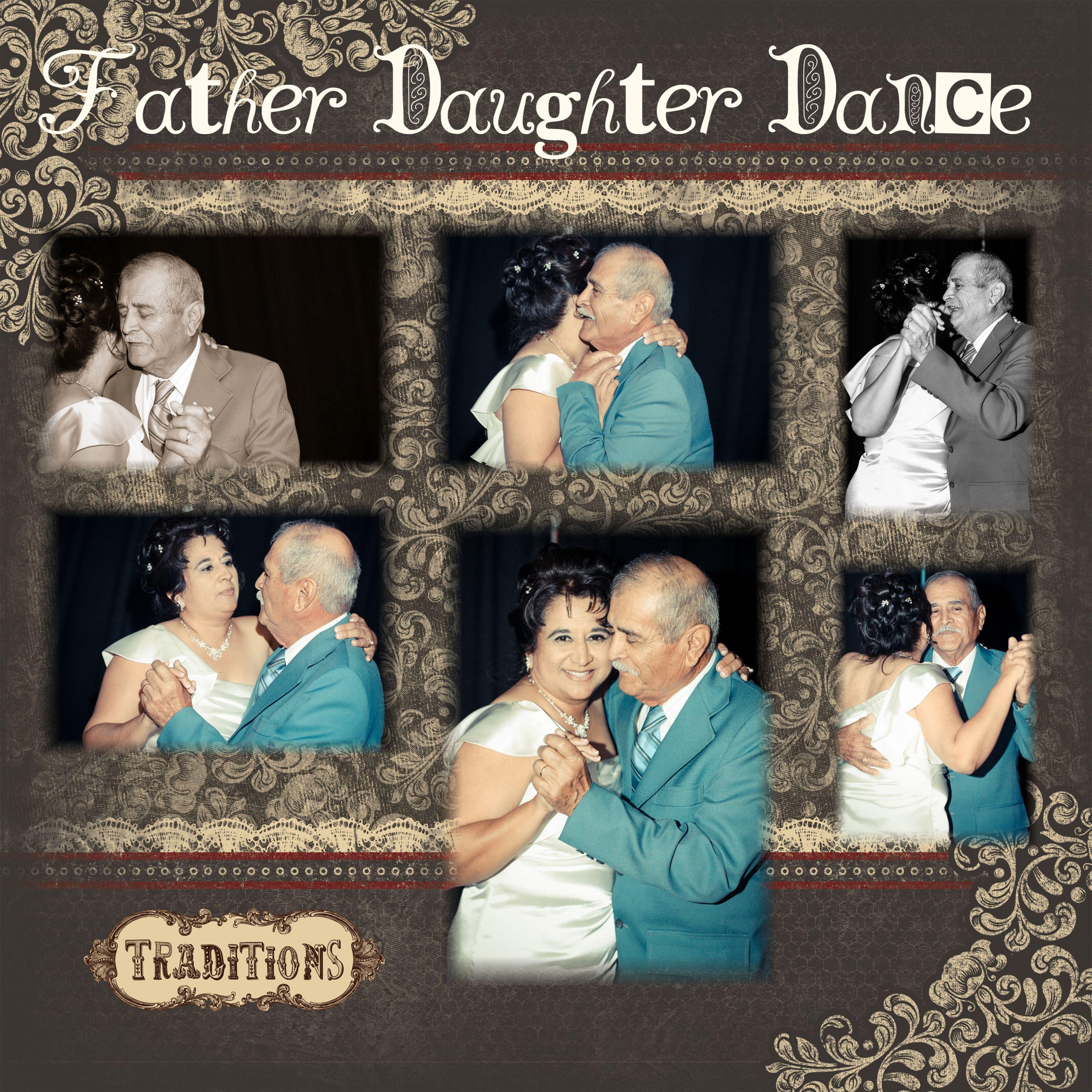 Father Daughter Wedding Dance: Lorraine's Scrapbooking Fun