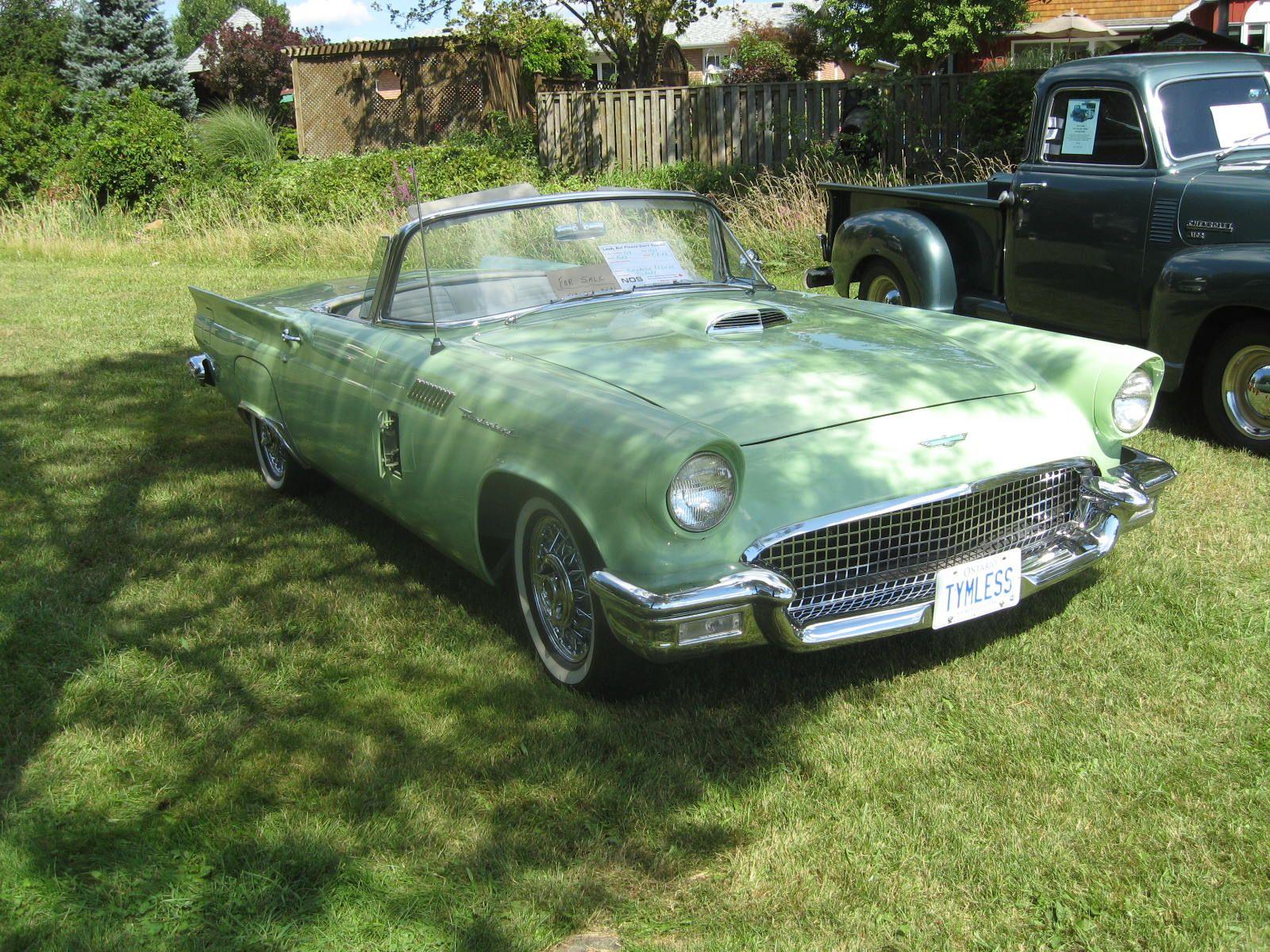 Classic Car And Truc