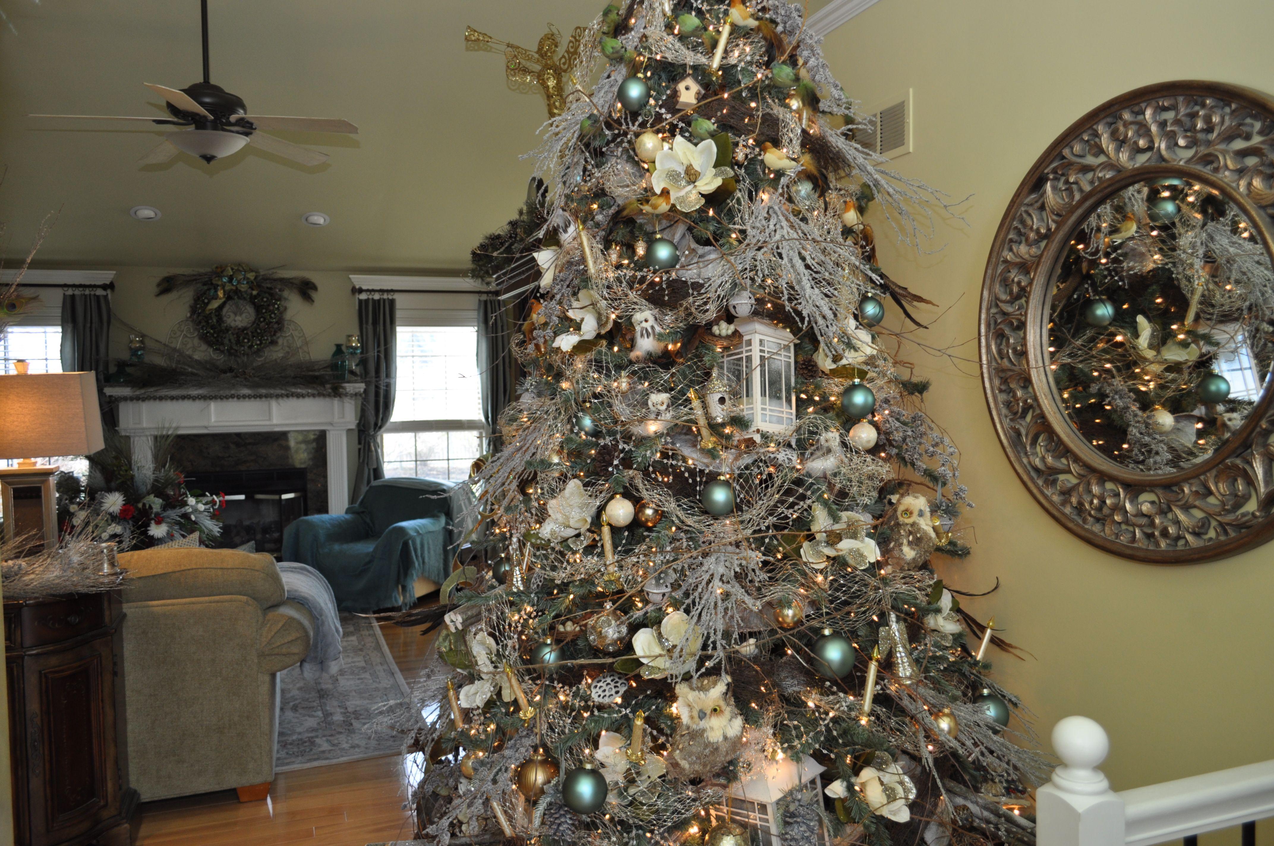 Woodland Christmas Tree Daytime All Holidays Pinterest