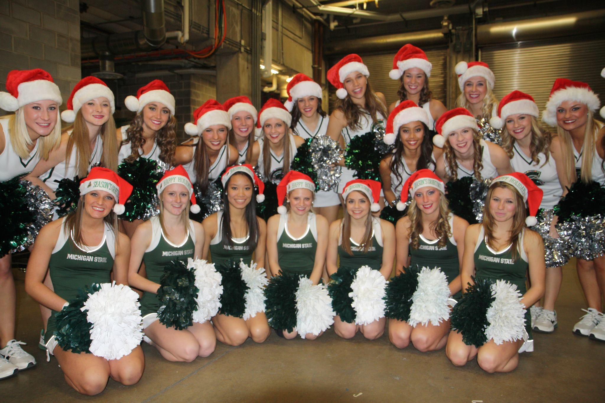 Know nothing Michigan state spartans cheerleaders remarkable question