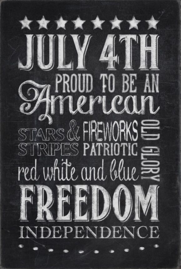 free pinnable printable patriotic quotes art for july 4th. Black Bedroom Furniture Sets. Home Design Ideas