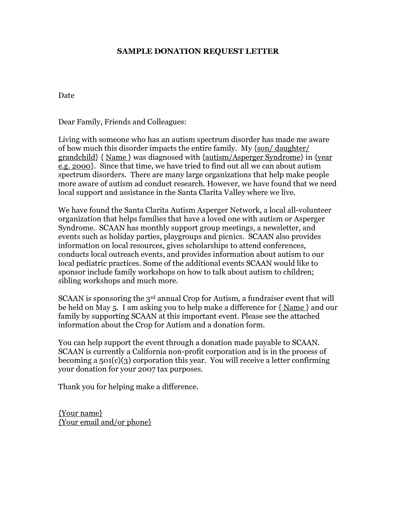 Church donation request letter template cheaphphosting Image collections