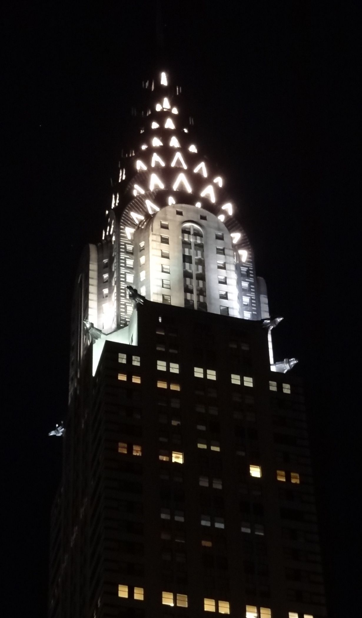 Chrysler Building at night   MY NYC   Pinterest