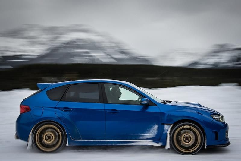 Winter drive. | Subaru Impreza Sti | Pinterest