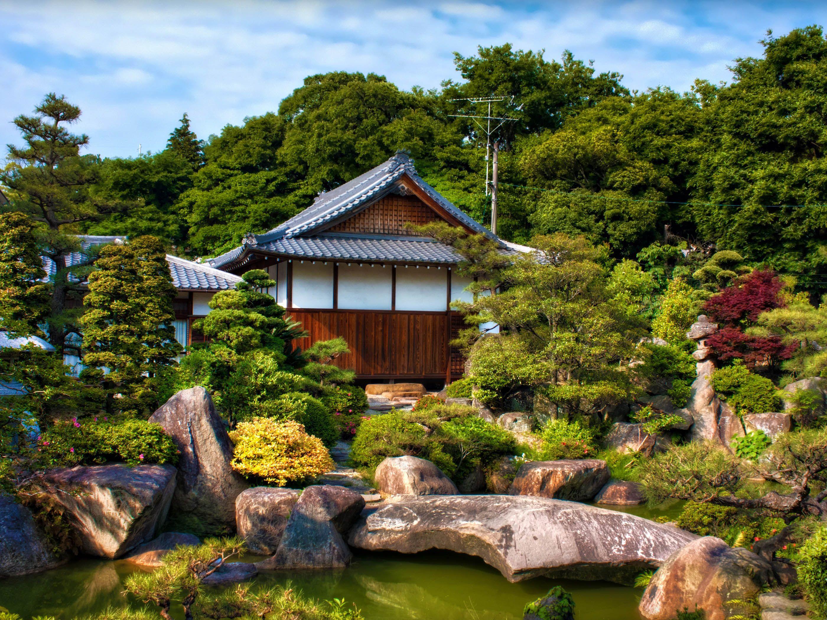 Japanese Tea House Pinterest