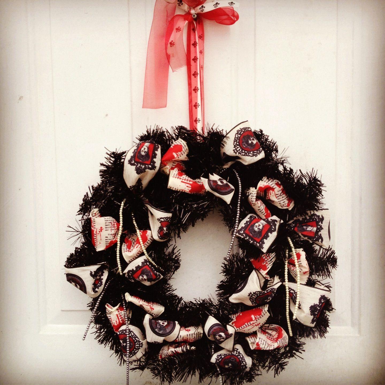Diy Halloween Wreath Halloween Ideas Pinterest