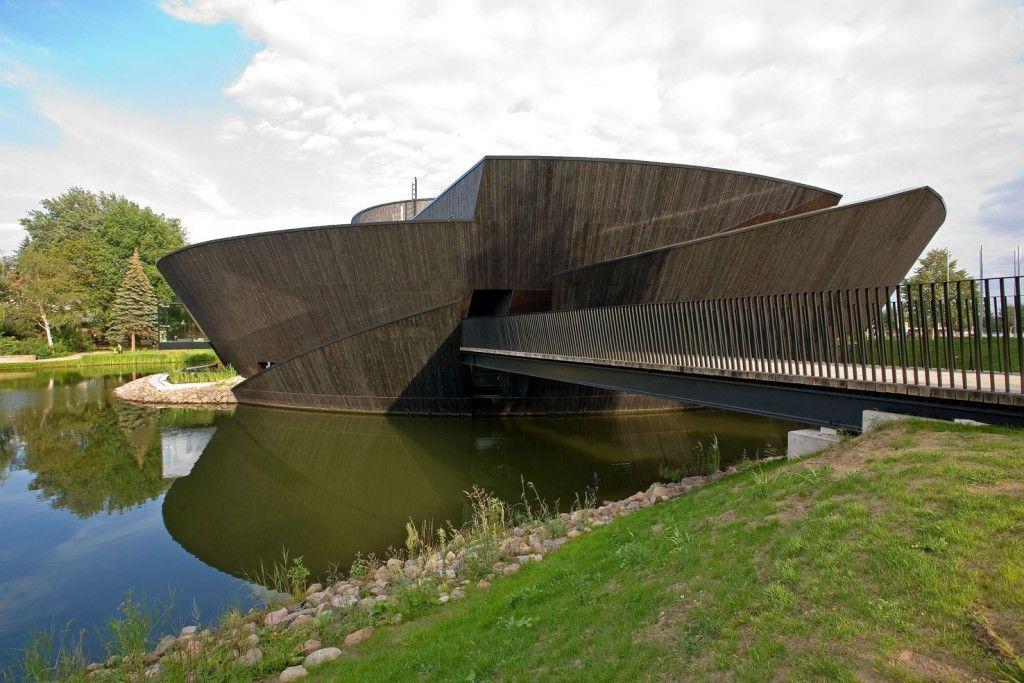 Phối cảnh công trình bảo tàng Muritzeum / Wingårdhs