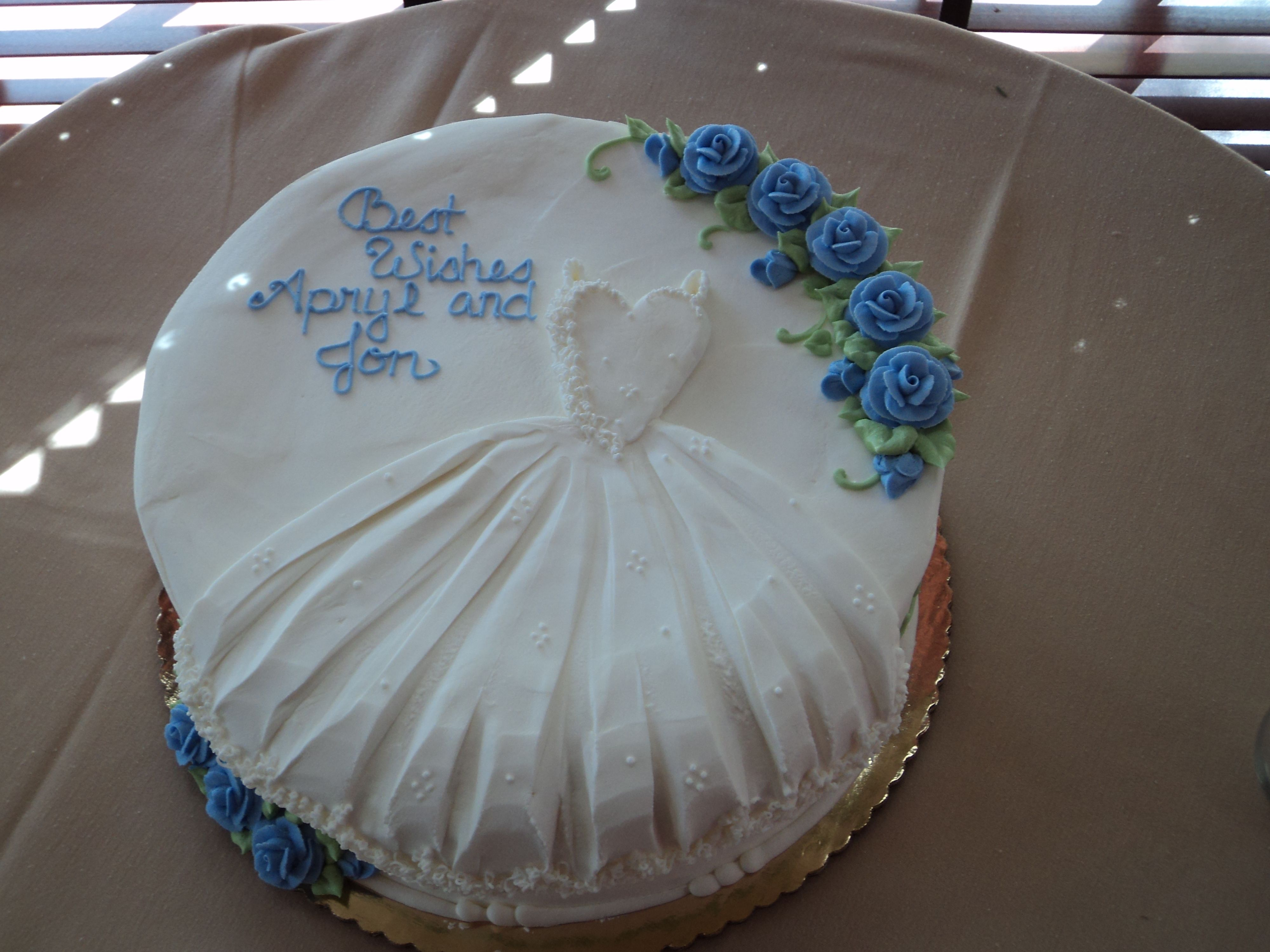 Wedding Shower cake! Cake Ideas Pinterest