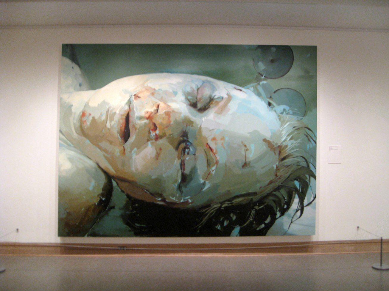 jenny saville I'm trying to see if it's possible to hold onto that moment of perception, or have several moments coexist   like looking at a memory so says jenny saville, the british painter who just opened her new solo show, ancestors, at gagosian gallery's west 21st location in new york as gagosian.