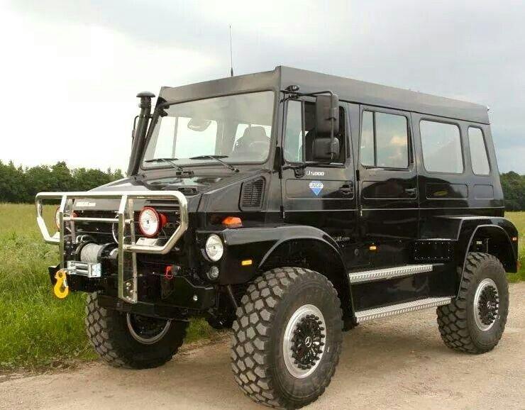 Mercedes Benz Vans >> Unimog van? | Vehiculos Overland | Pinterest