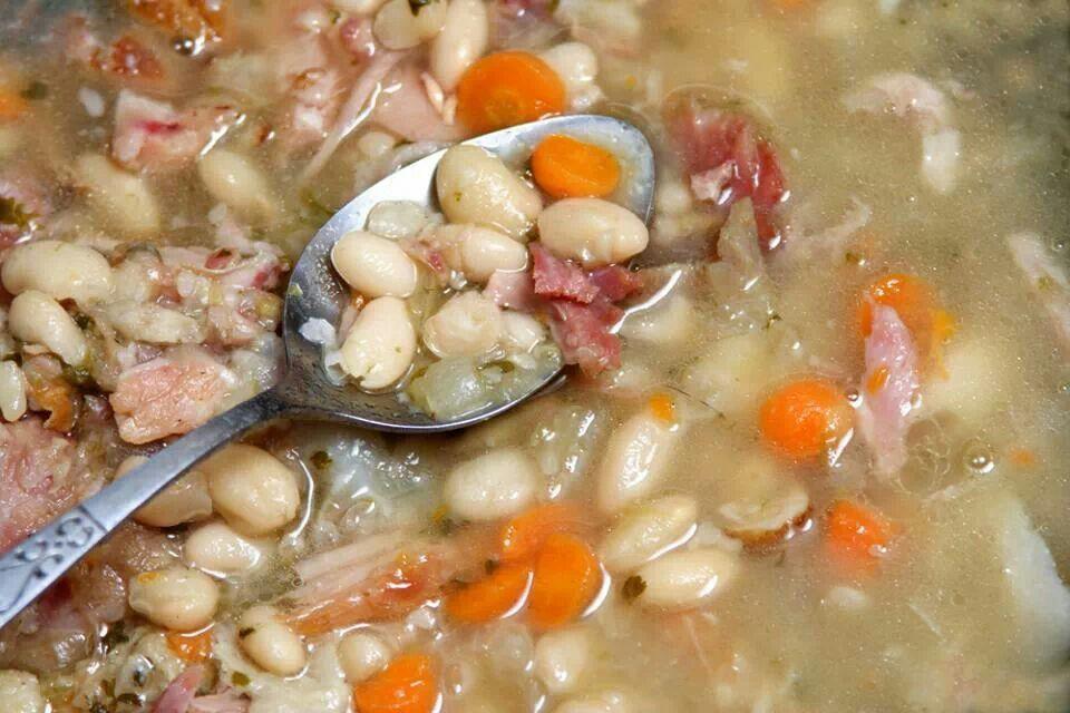 Ham and bean soup | Soup, Salad, & Sides | Pinterest