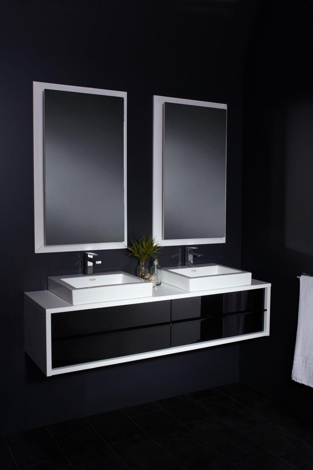 Combathroom Wall Hung Vanity Units : Mode Harte Wall Hung Vanity Unit 1500mm  Bathroom Bling  Pinterest
