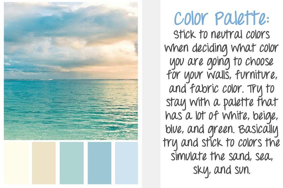 beach colors home ideas dreams pinterest