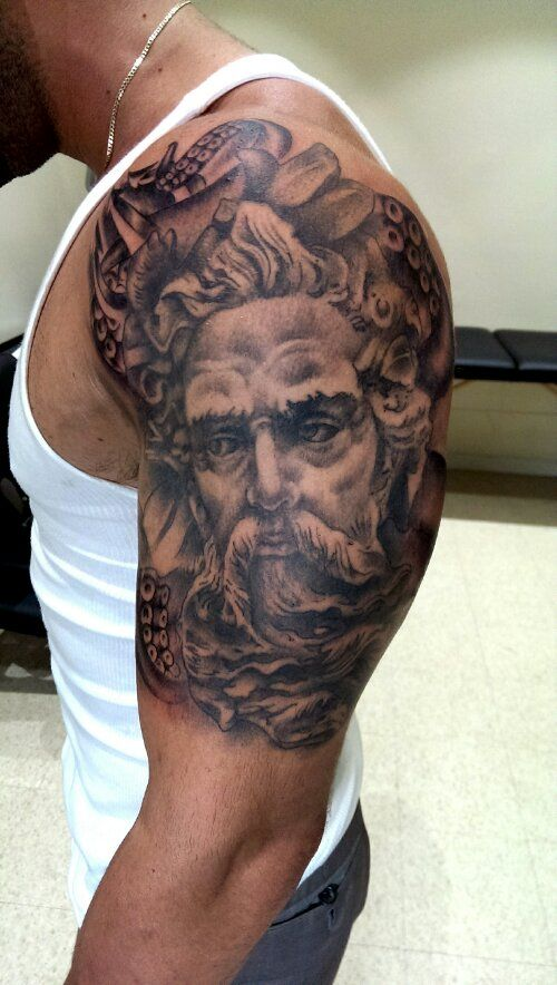 60 Roman Statue Tattoo Designs For Men – Stone Ink Ideas forecasting