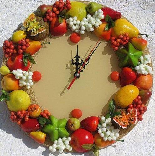 Поделки из искусственных овощей и фруктов фото 5