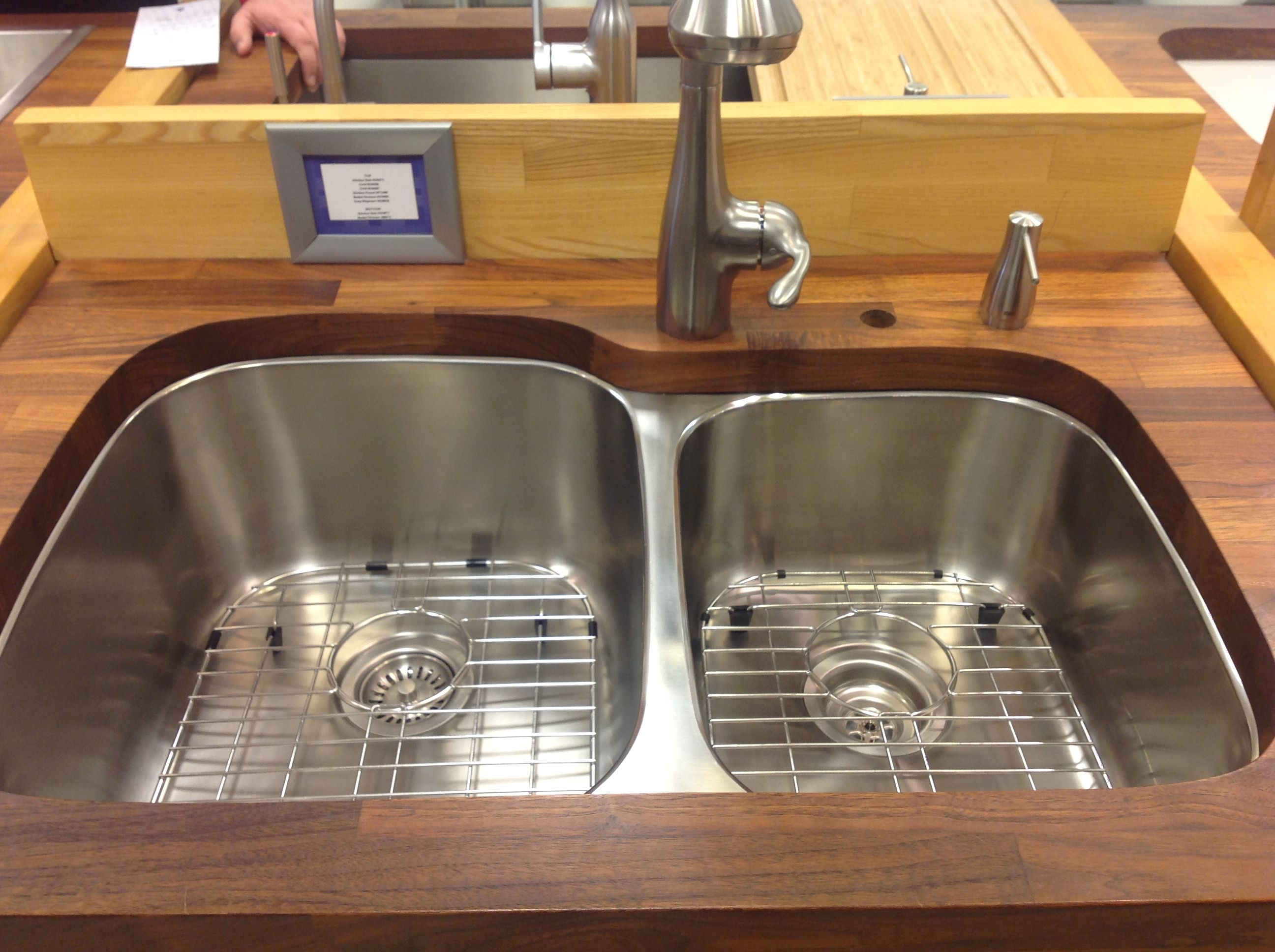 10inch deep dual kitchen sink Home Pinterest