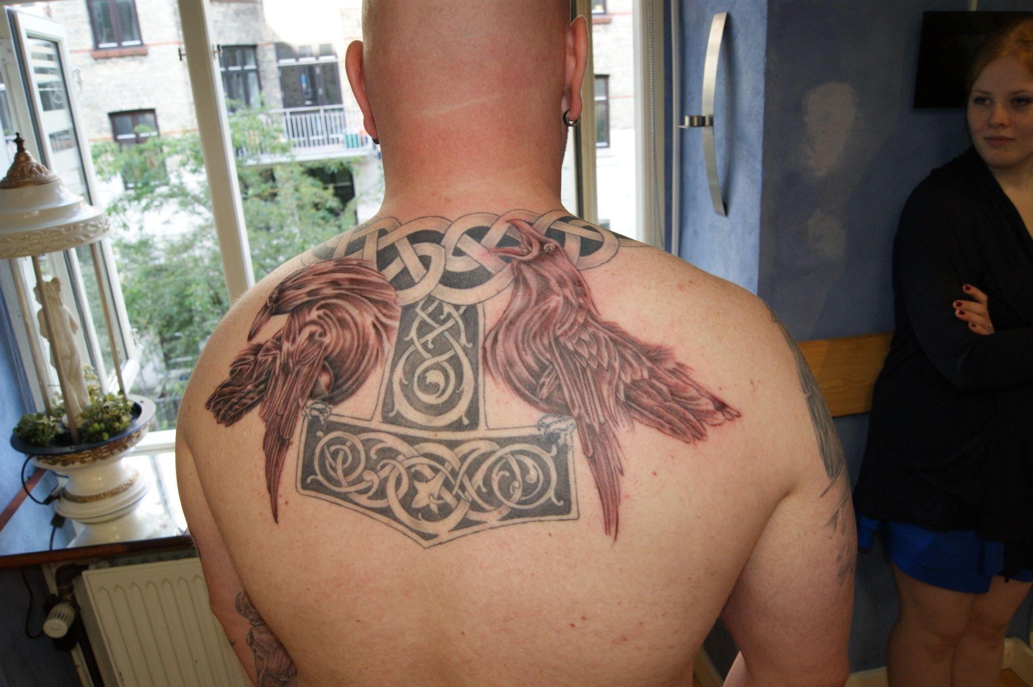 ravensOdins Ravens Tattoo