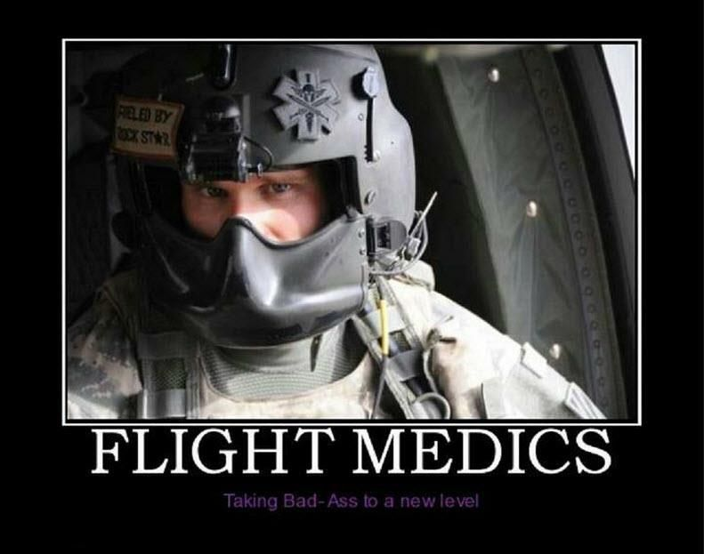 medic in the army national guard