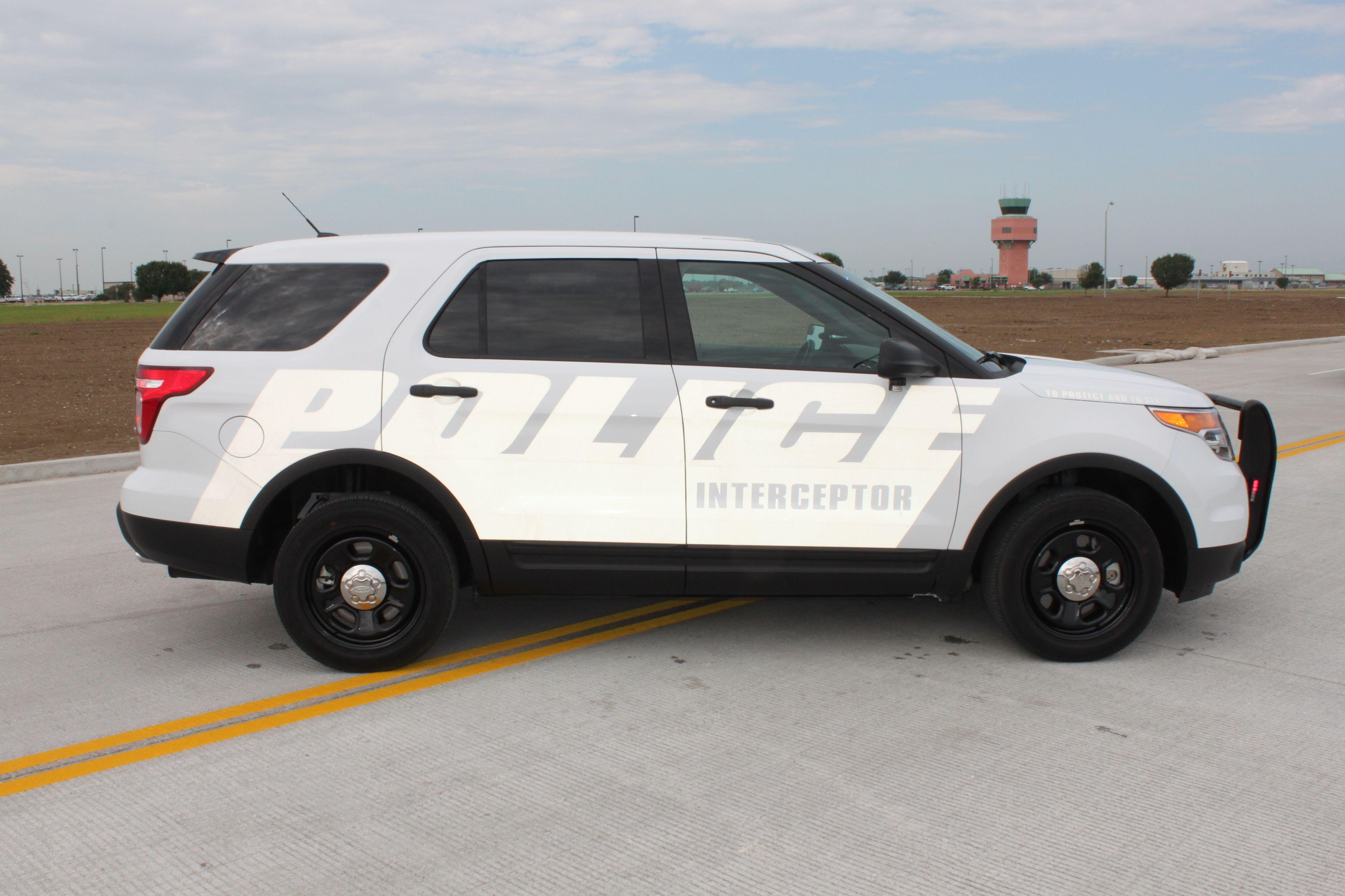 2013 Ford Police Interceptor SUV | Authority | Pinterest