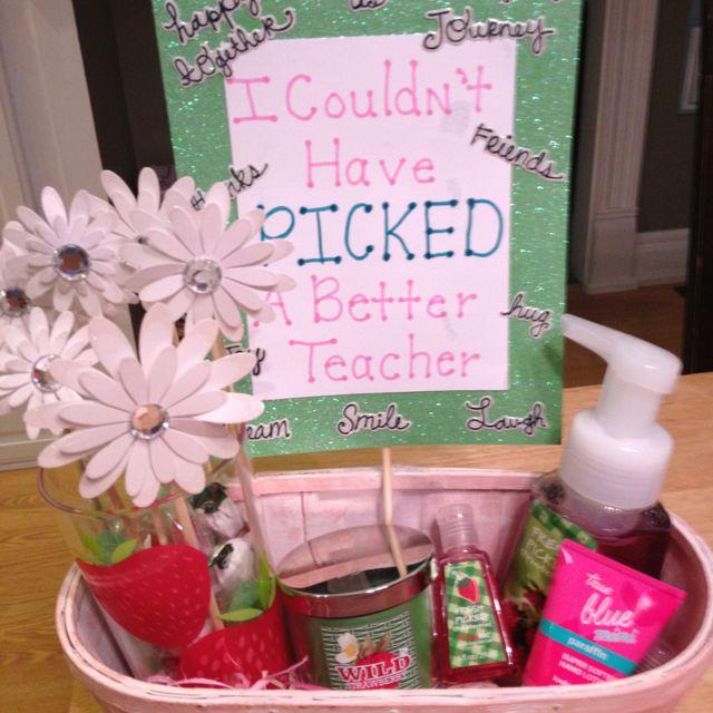 Teacher thank you gift gift ideas pinterest for Pinterest thank you gift ideas