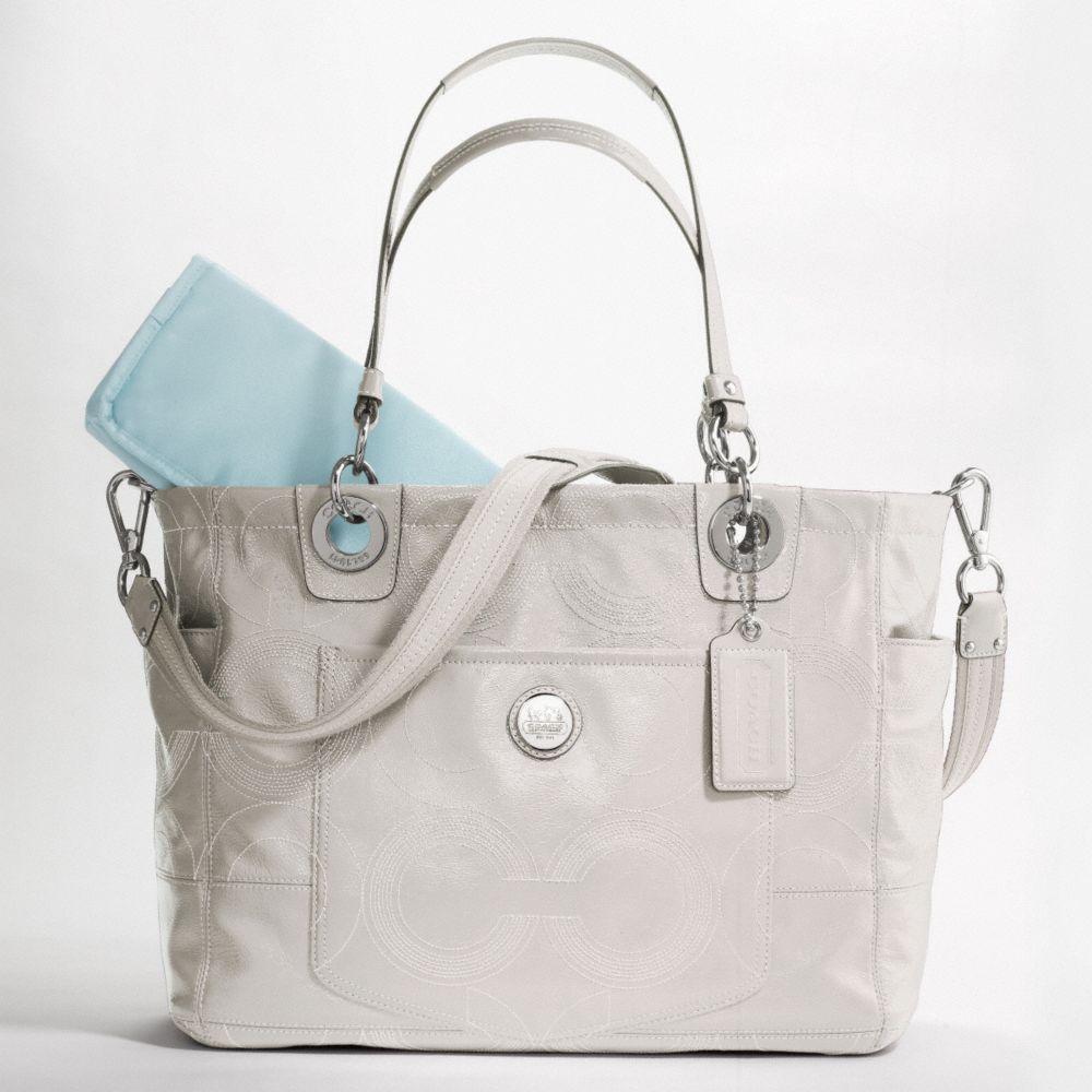 cute coach diaper bag my style pinterest. Black Bedroom Furniture Sets. Home Design Ideas