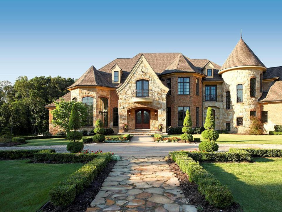 English Manor Exterior Dream Home Pinterest