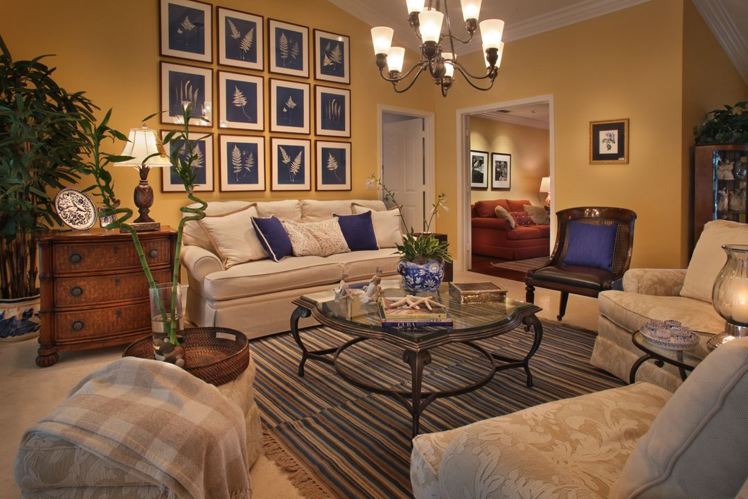 Yellow And Blue Living Room Home Sweet Home Pinterest