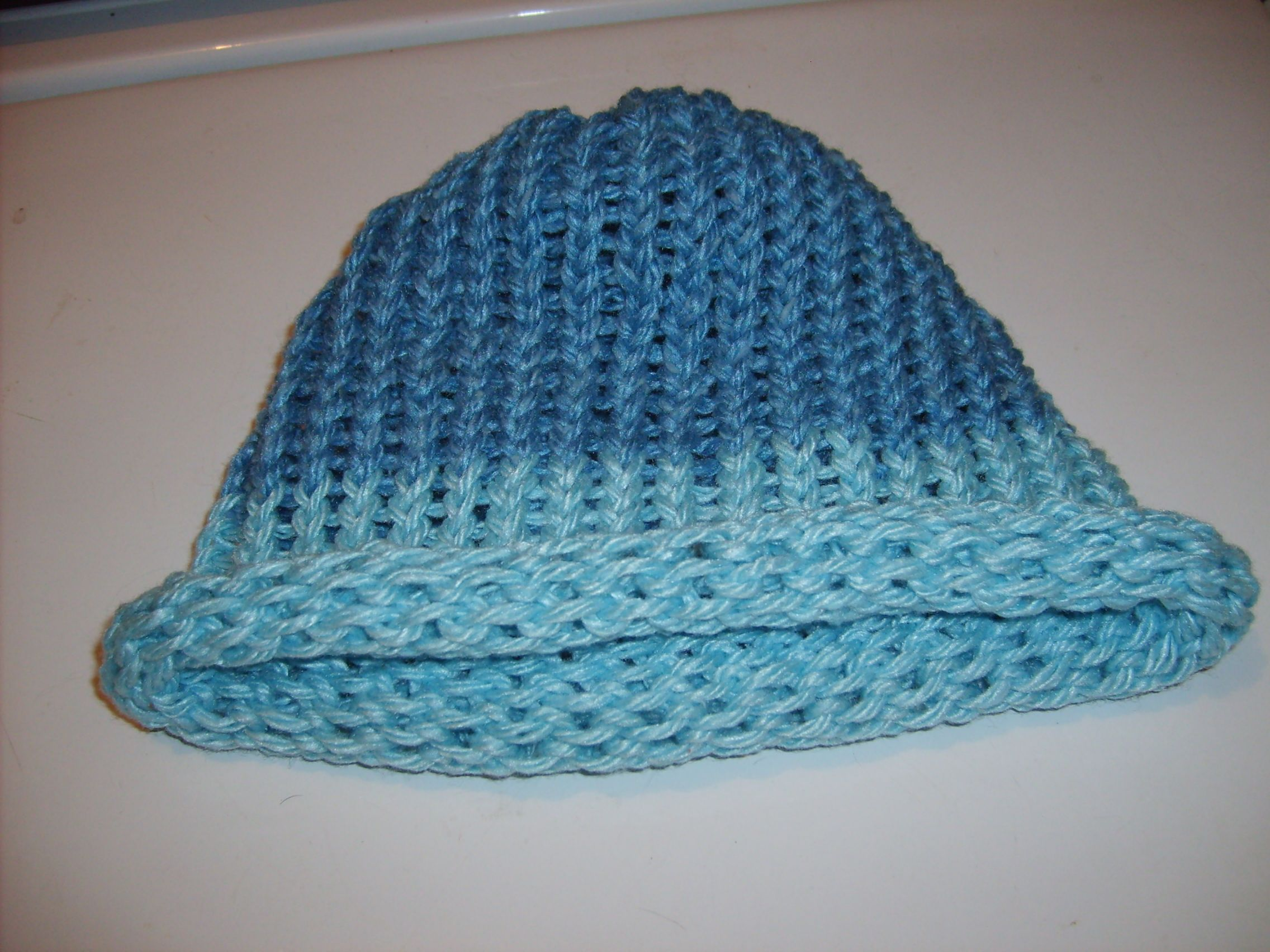 Fun Loom Knitting Patterns : Adult Loomed Knitted Hat. Loom Knitting Fun Pinterest