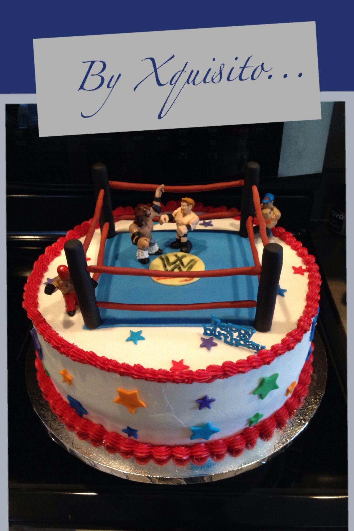 Wrestling Cake Ideas 87578 Wrestling Birthday Cake Busines