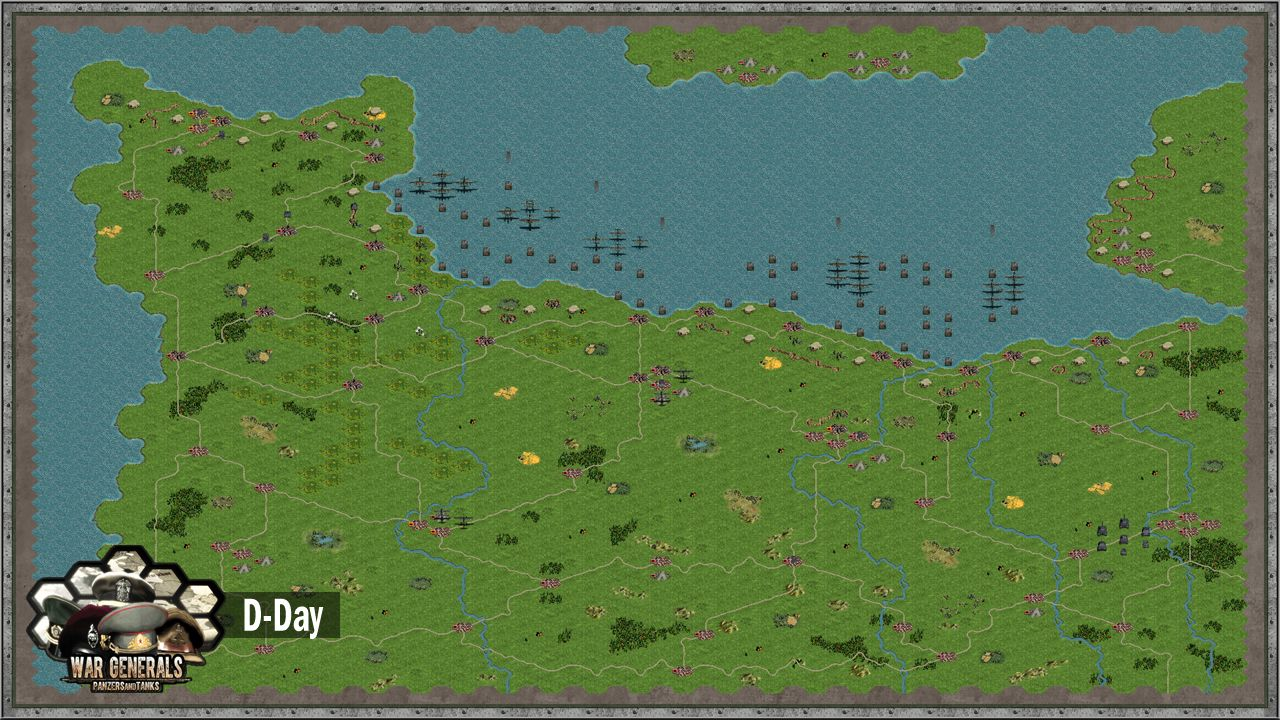d day invasion map normandy