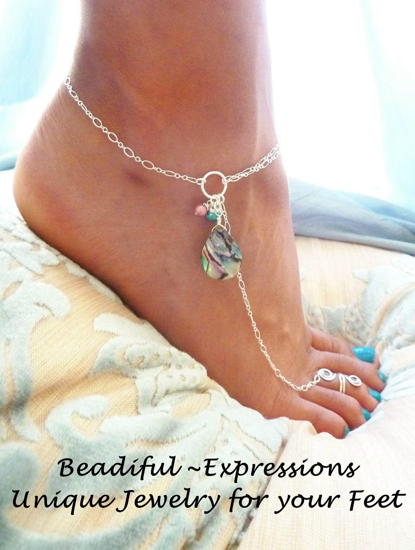 toe ring jewelry