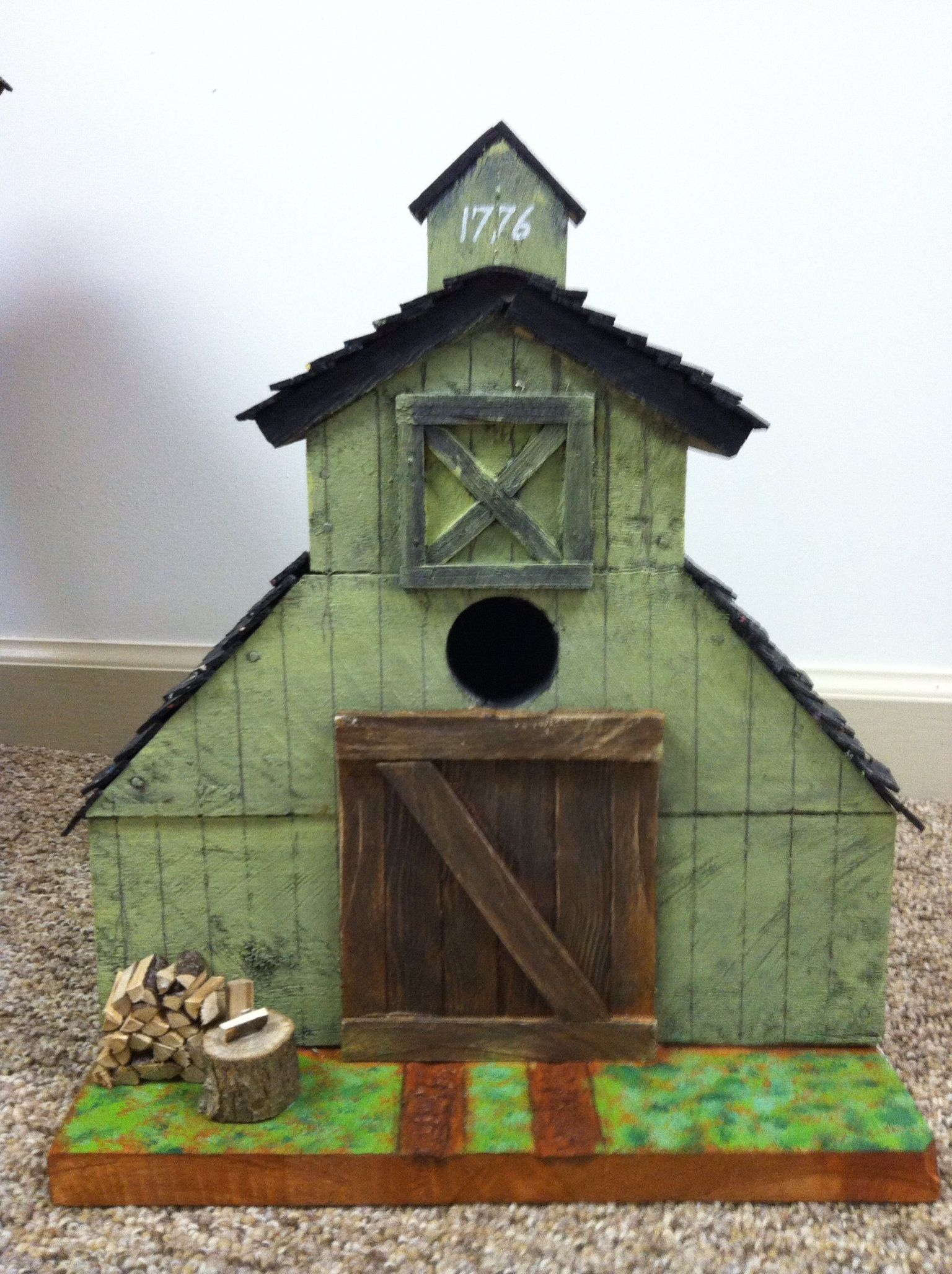 Rustic Barn Bird House Projects For Peter Pinterest