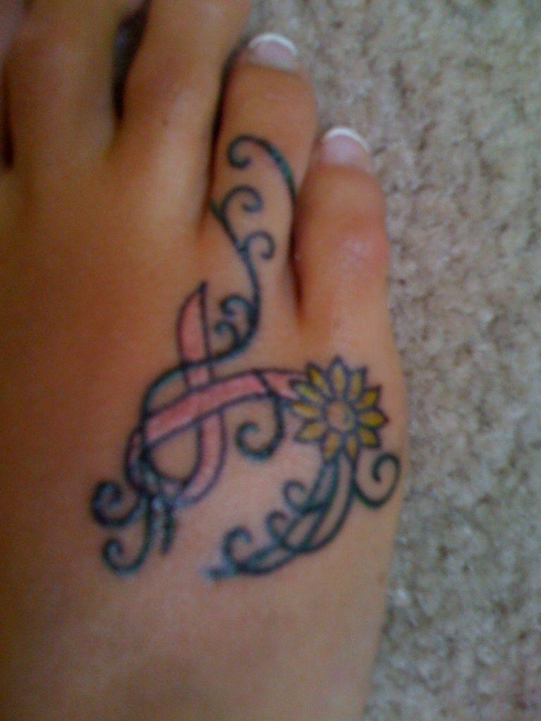breast cancer tattoos on foot name creating tattoos vine flower tattoos tumblr. Black Bedroom Furniture Sets. Home Design Ideas