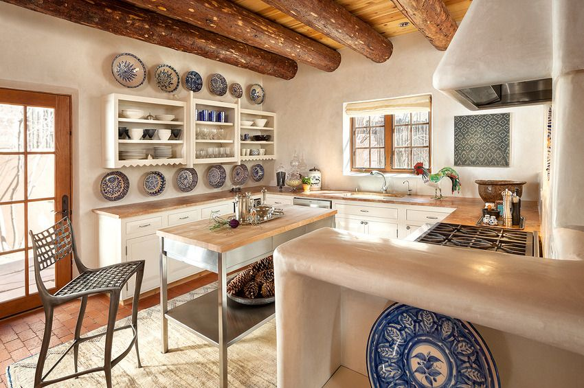 adobe kitchen southwest style pinterest