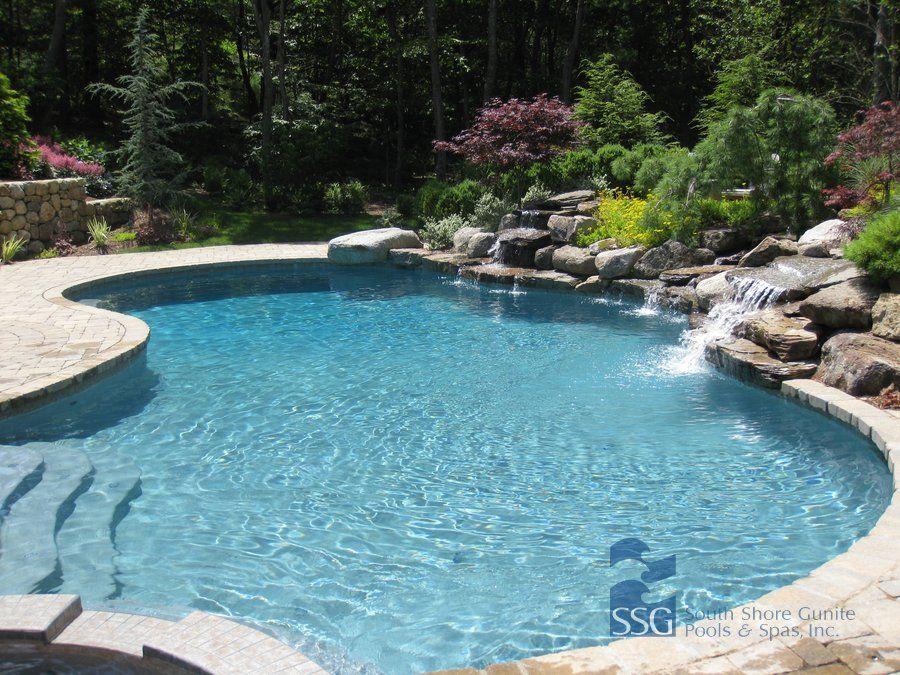 GUNITE POOL Swimming Pools Pinterest