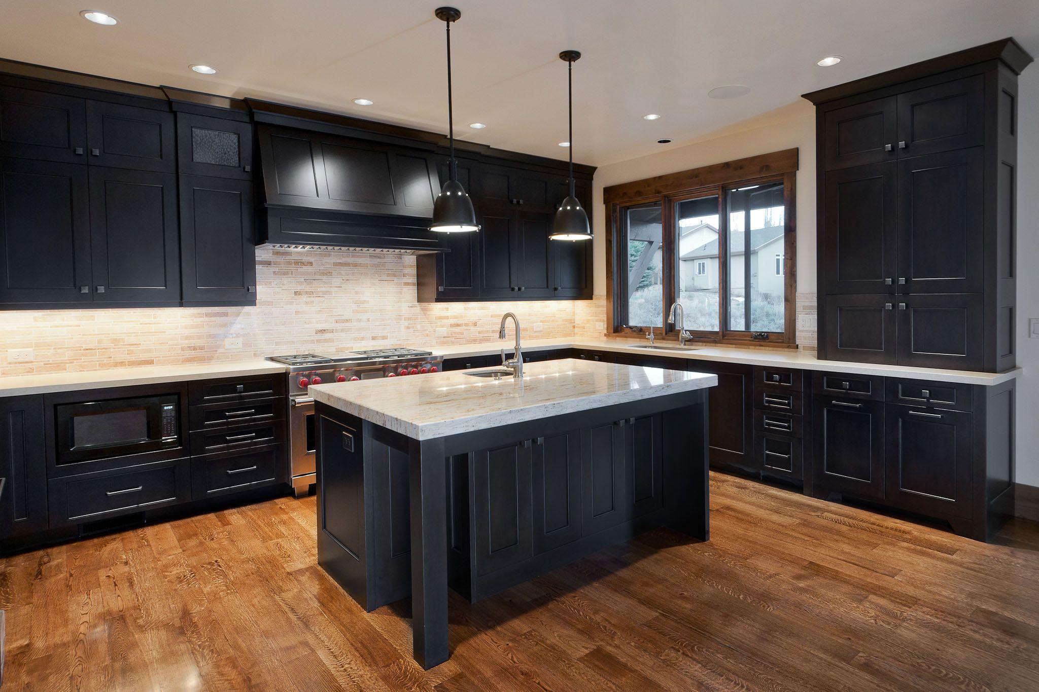 Paint kitchen cabinets espresso color for Cappuccino color kitchen cabinets