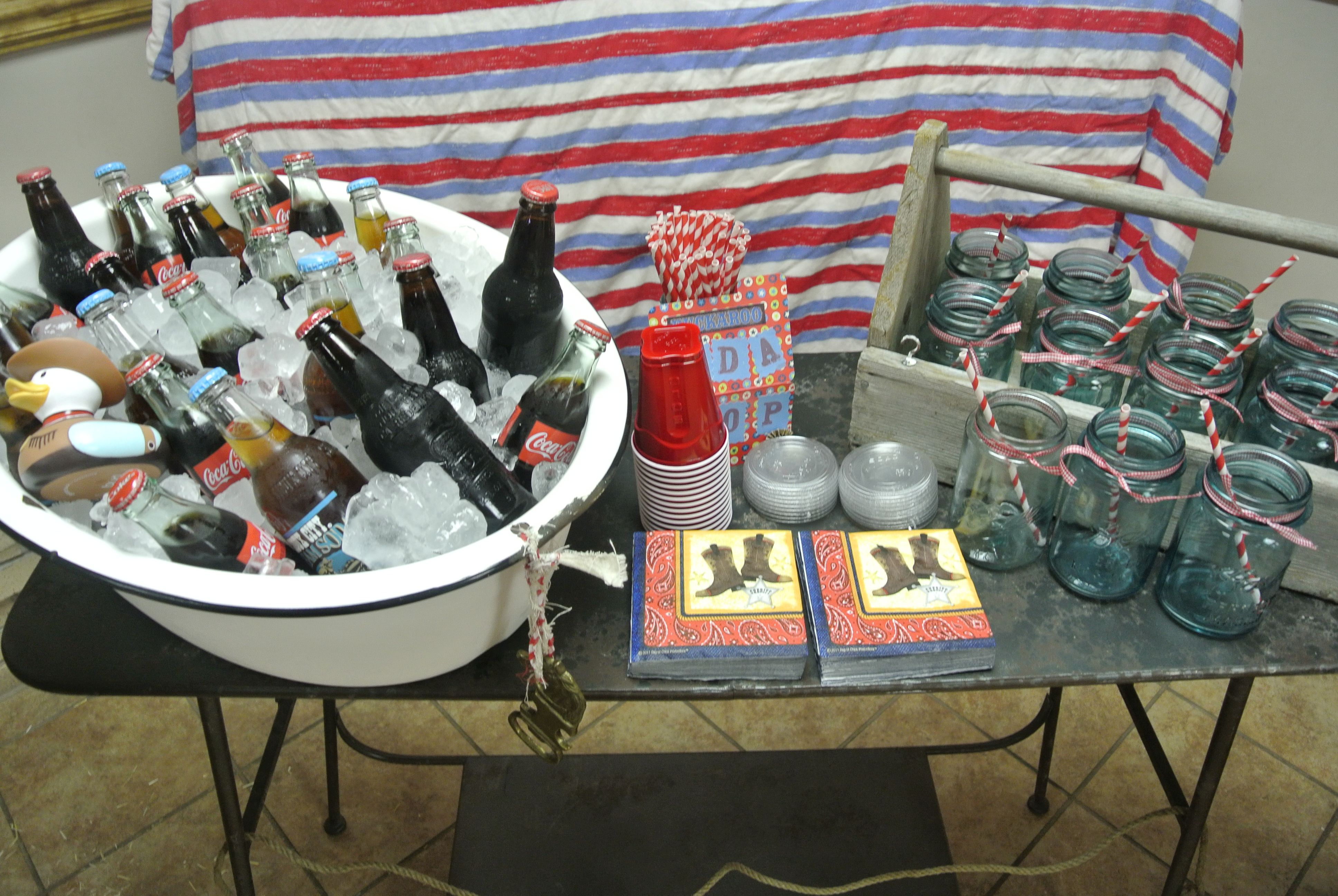 cowboy themed baby shower blissfully vintage event rentals pinte