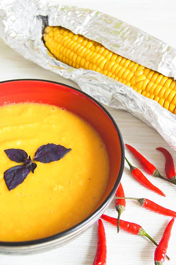 Суп <b>пюре</b> из цветной капусты и кукурузы http://tastylive.ru ...