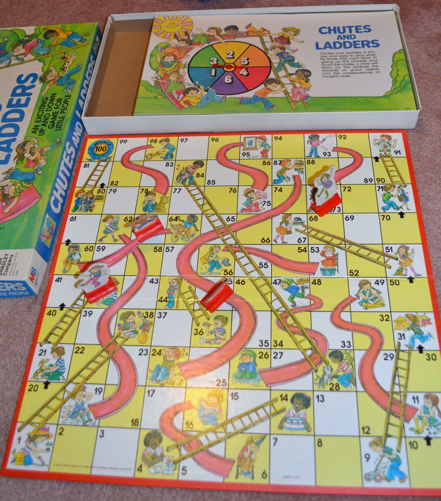 chutes and ladders | Nostalgic for the 80's & 90's | Pinterest