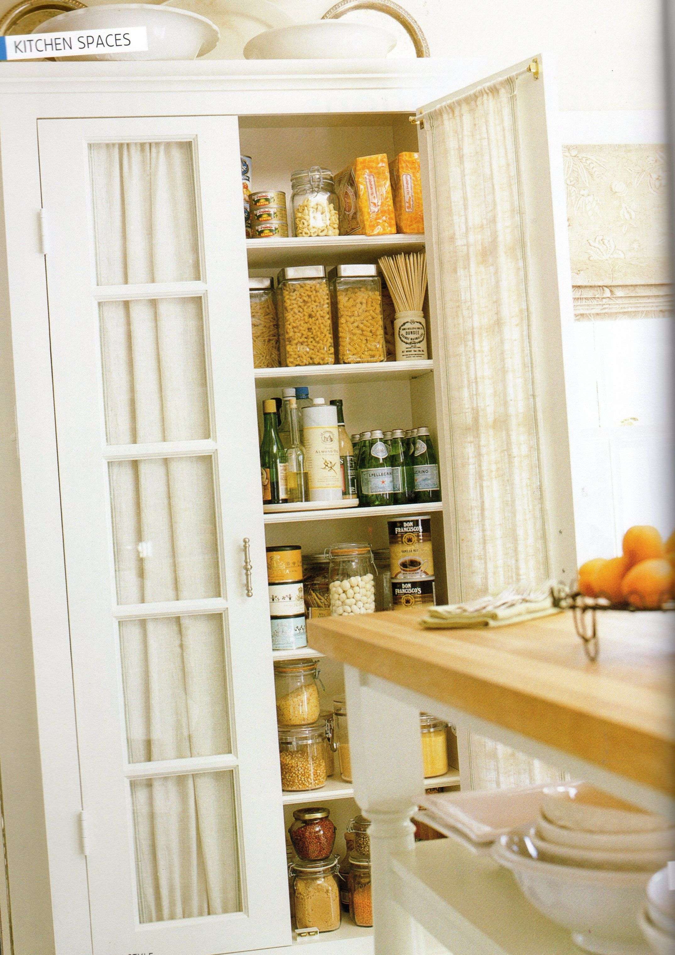 pantry storage | Kitchen | Pinterest