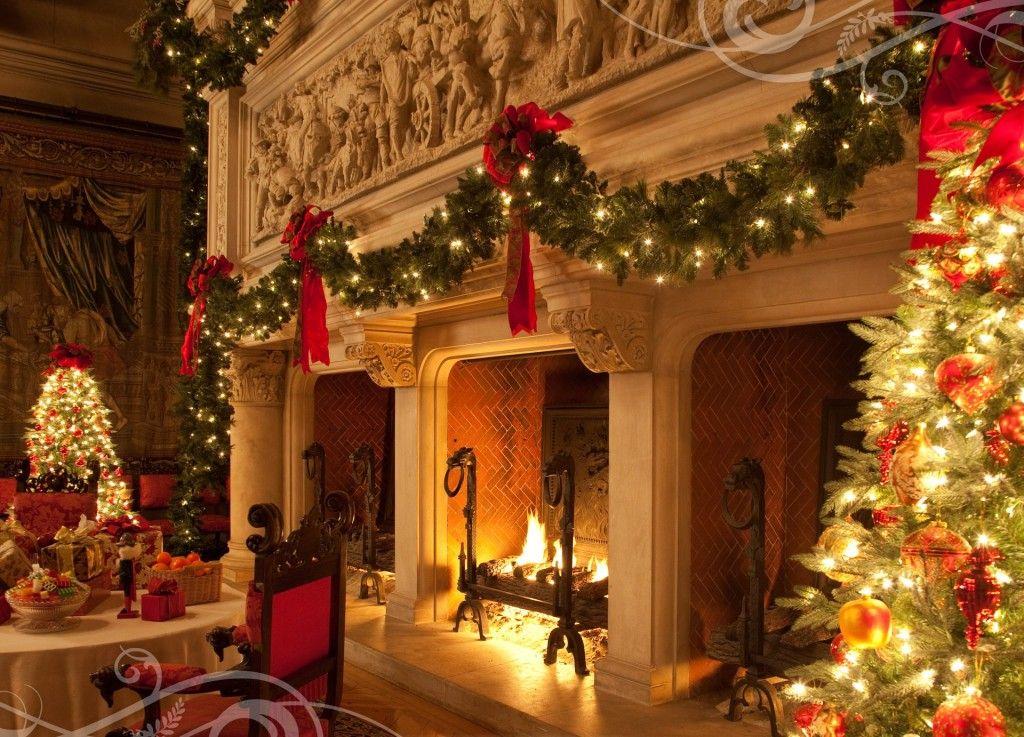 Favorite Fireplace Christmas Decor Cozy Christmas Pinterest