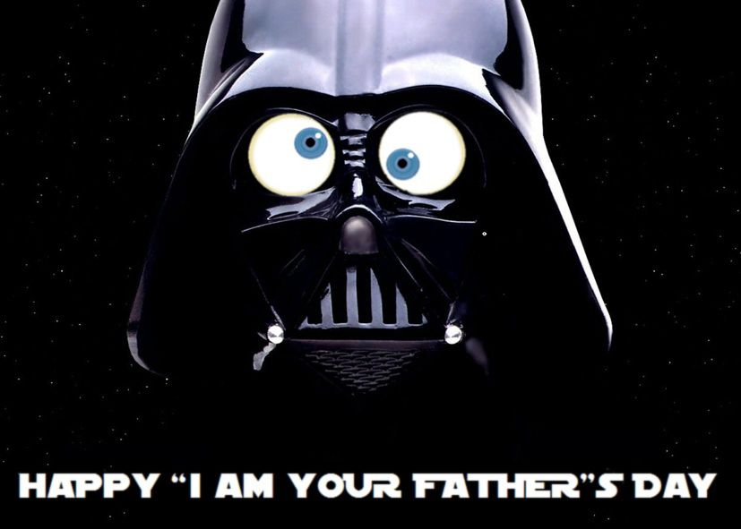 darth vader father's day book