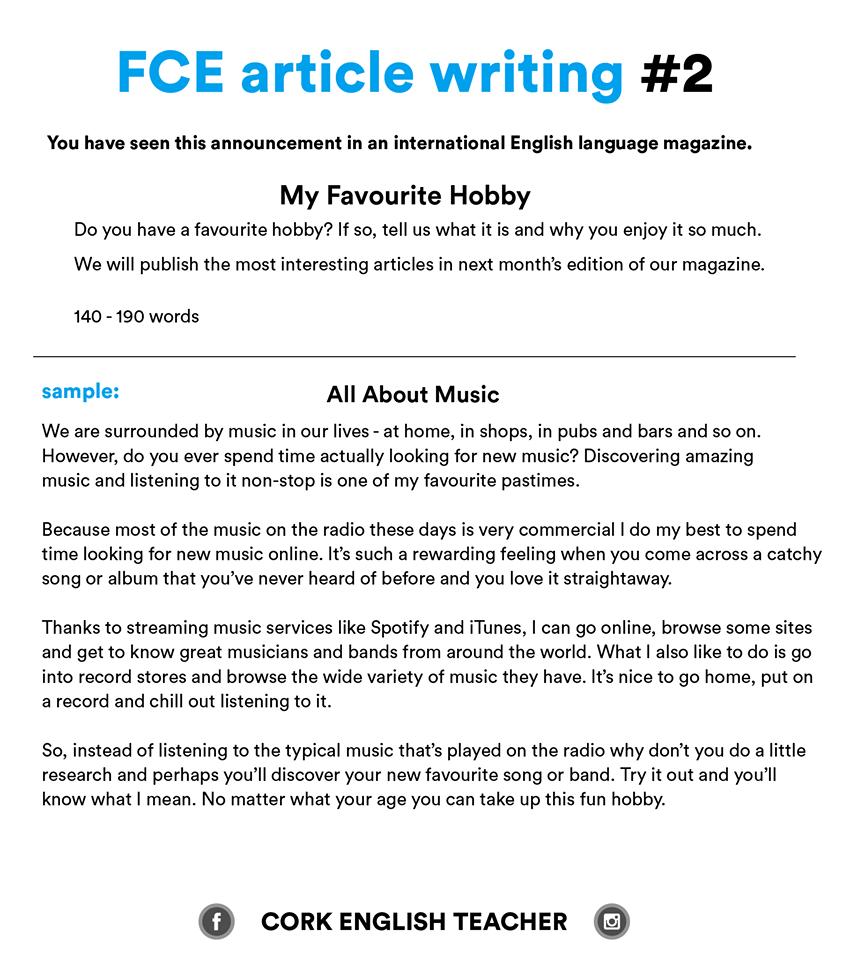 curriculum vitae english example hobbies