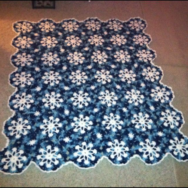 Crochet Pattern Snowflake Afghan : Pin by Marcy Kanapaux on Crochet, Knitting.... Pinterest