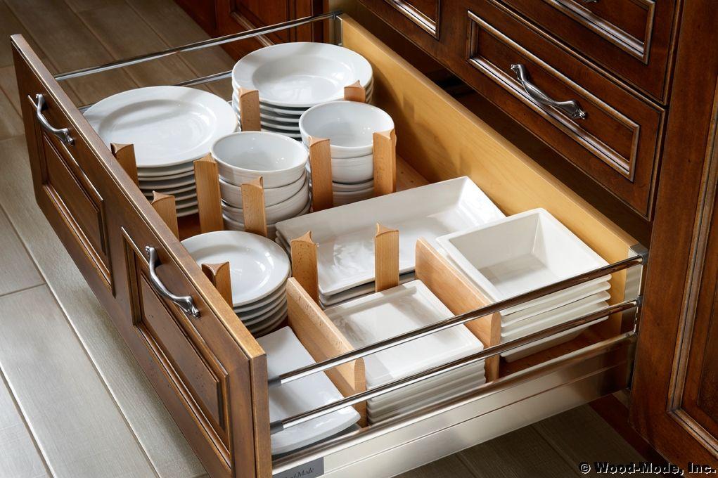 dinner plate storage in kitchen drawer organizer pinterest. Black Bedroom Furniture Sets. Home Design Ideas